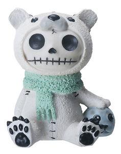 Details about NEW Furrybones Furry Bones Chilton Polar Bear Skull Skeleton  Figurine Gift 8488