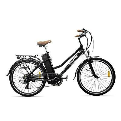 "Bicicleta Eléctrica Paseo SHIMANO RUEDA 26"" ALUMINIO Batería ION-LITIO 36V 16Ah"