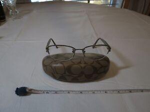 Coach 9198 sand sepia 52 18 135 prescription eyeglasses glasses Kacey HC5059 RX