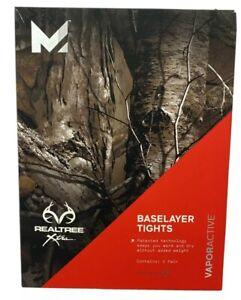 Mission-Active-Men-s-Realtree-Xtra-Baselayer-Tights-Vapor-Active-Size-Small-New