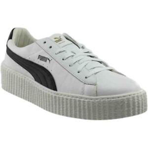 Image is loading Puma-Fenty-by-Rihanna-Creeper-Leather-Sneakers-White- b819c1f6b