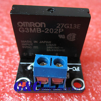 10pcs 5v 1 Channel OMRON SSR G3MB-202P Solid State Relay Module For Arduino M63