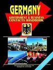 Germany Government and Business Contacts Handbook by International Business Publications, USA (Paperback / softback, 2005)
