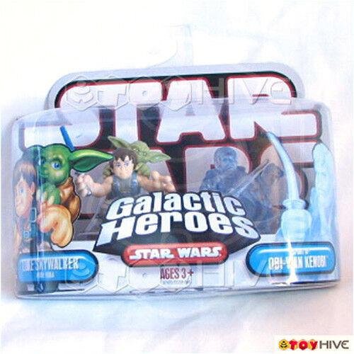 Star Wars Galactic Heroes Luke Yoda & Spirit Obi-Wan