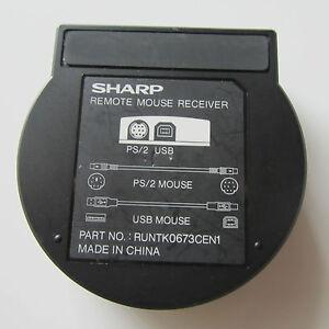 SHARP-RUNTK0673CEN1-Remote-Mouse-Receiver