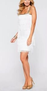 c3dae07fc2cb9 Women's Flapper Dress Mini 1920 Style Fringe Party Cocktail New 1XL ...