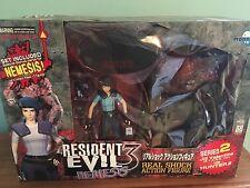 Resident Evil Nemesis Biohazard Moby Dick Series Jill Valentine Hunter Figures