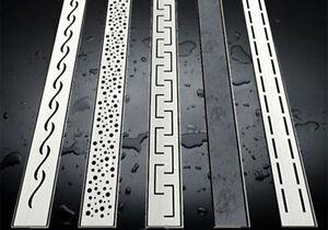 duschrinne flach 54mm ablaufrinne bodenablauf duschablauf siphon dusch ebay. Black Bedroom Furniture Sets. Home Design Ideas