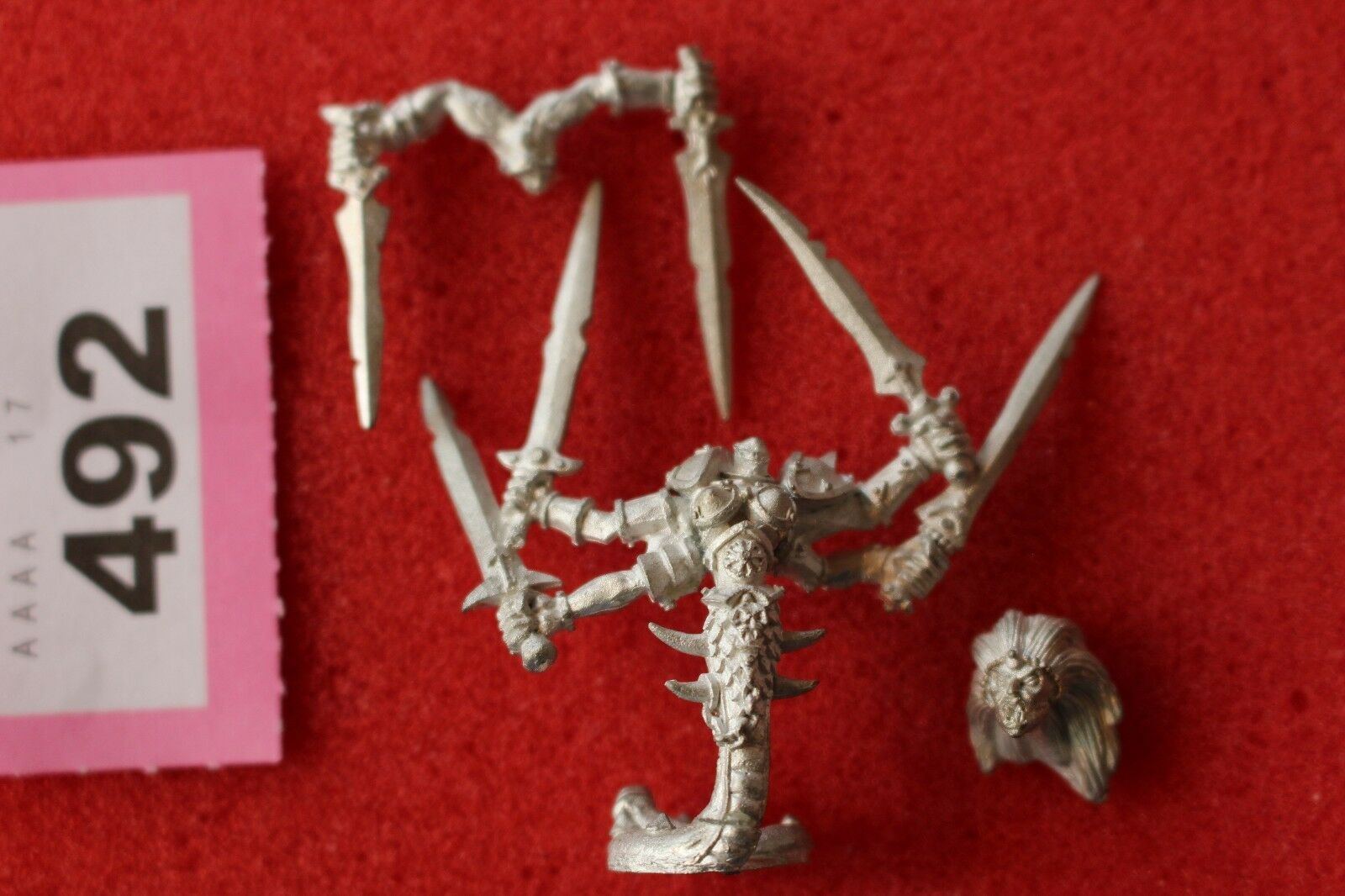 Games Workshop Warhammer Dechala the Denied One Chaos Champion Slaanesh Metal
