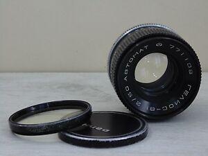 HELIOS-81-Automat-50mm-f-2-camera-Kiev-10-15-Soviet-lens