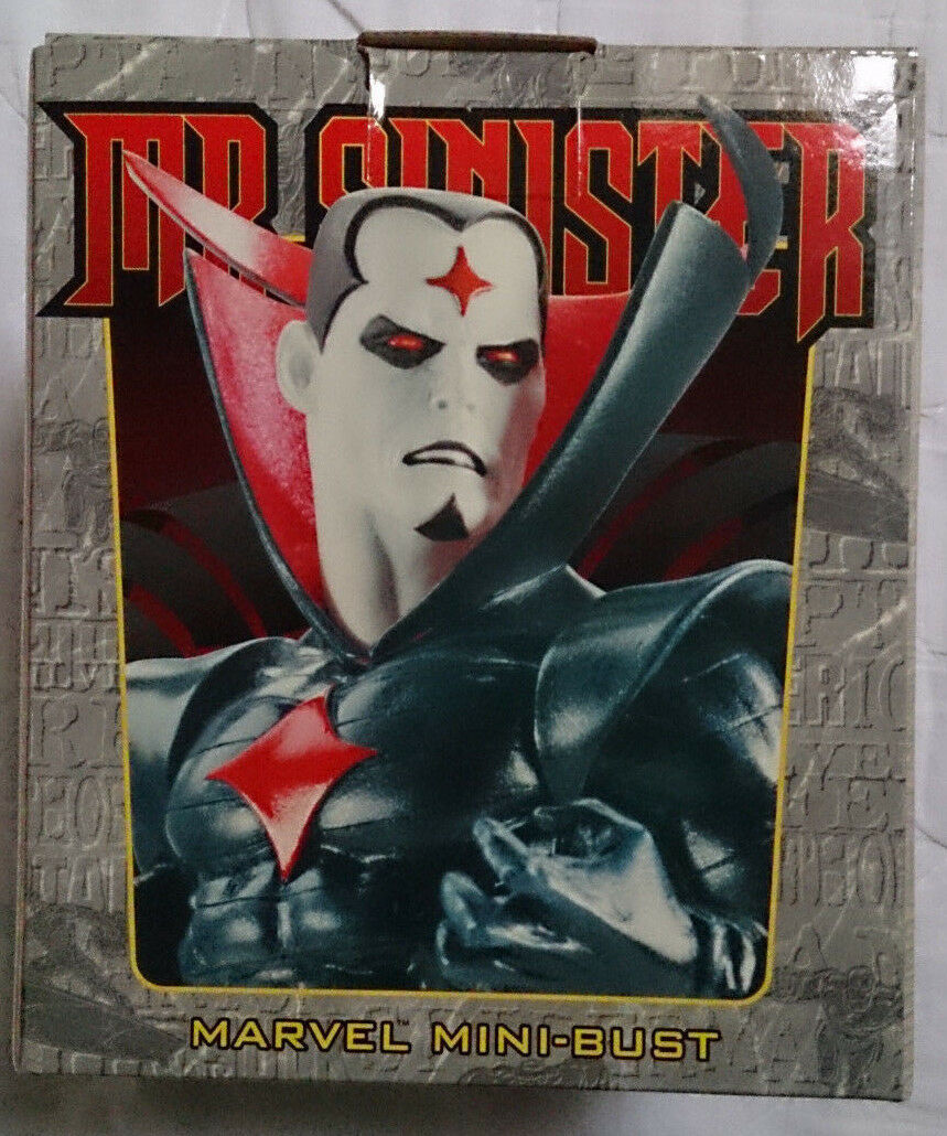 Marvel Comics Bowen X-Men Mr Sinister mini bust/statue rare with box