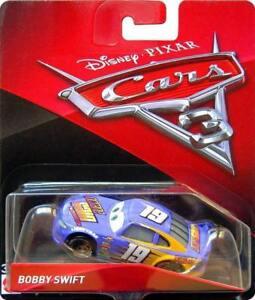 CARS-3-BOBBY-SWIFT-racer-OCTANE-GAIN-TEAM-Mattel-Disney-Pixar