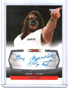 TNA-Abyss-2008-TriStar-Cross-The-Line-Inscribed-Autograph-Card