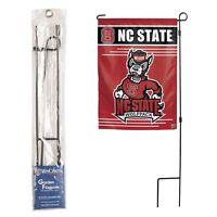 Metal Garden Flag Pole 3 Piece Pc H Frame Design 12.5x18 Free Us Shipping