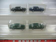 L71-0,5# 4x Wiking H0, Mercedes-Benz MB, 151, 450 SE, sehr gut