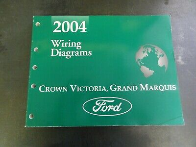 Ford 2004 Crown Victoria Grand Marquis Wiring Diagrams ...