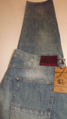 160 Dales 96 Logo Denim Coll Brian Tg Cartellino Jeans Cm 52 38 Nuova 00 Pdnwqza