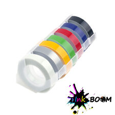 7 Rolls Colorful Label Tape For Dymo 3d 9mm Embossing Label Maker Tape 38 X 3m