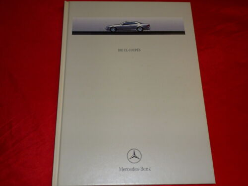 MERCEDES c215 CL coupes CL 500 CL 600 Hardcover prospetto di 1999