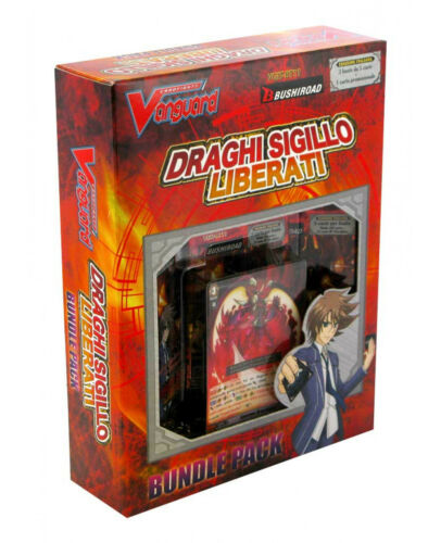 BUNDLE PACK DRAGHI SIGILLO LIBERATI in ITALIANO 3 BUSTE CARDFIGHT VANGUARD PR