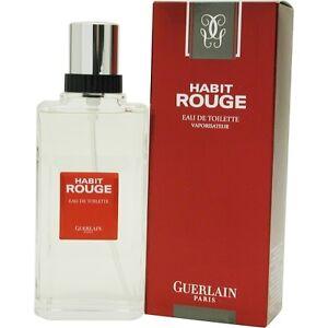 habit rouge by guerlain edt spray 1 7 oz ebay. Black Bedroom Furniture Sets. Home Design Ideas