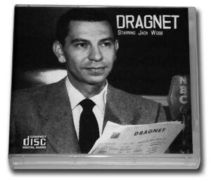 DRAGNET Volume 1 - OLD TIME RADIO - 12 AUDIO CD - 23 Sh