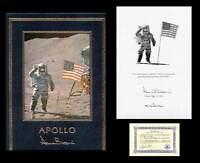 ALAN L BEAN Signed Autographed Book Easton Press NASA Astronaut Lunar Apollo 12