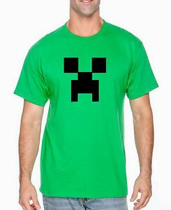 Minecraft Creeper Zombie Shirt Funny Gamer Nerd Strategy Crafter T