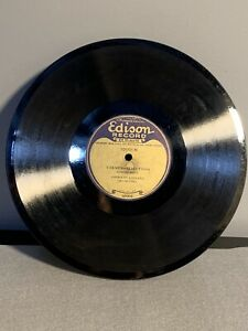 Edison-Diamond-Disk-LONG-PLAY-10-Record-With-Sleeve