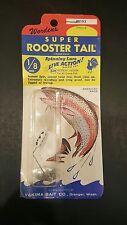 Wordens Super Rooster Tail 194 1//4oz  WH SRT