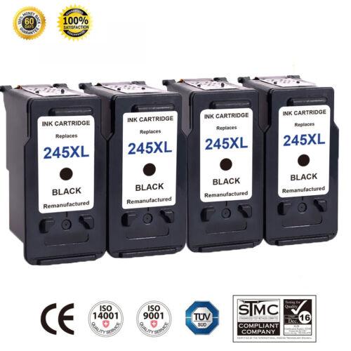 4 PK PG-245XL Black Ink Cartridge For Canon PIXMA IP2820 IP2850 MG2450 MG2520