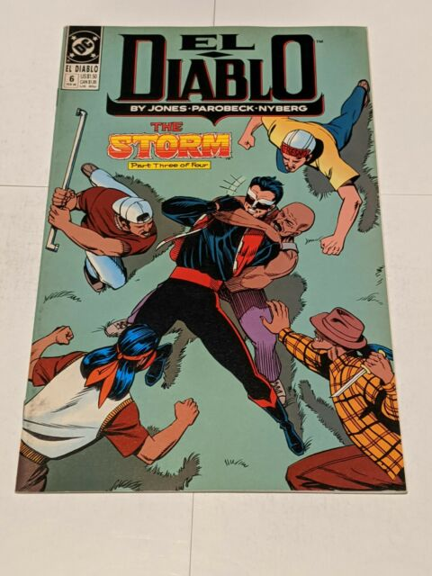 El Diablo #6 February 1990 DC Comics Jones Parobeck Nyberg