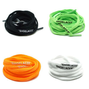 """9d927d179 SHOELACES"""" OVAL Laces Off-White The Ten Presto Air Max Shipped from ..."""