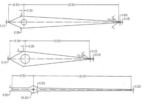 ETA 2824-2 movement hands set hour minute second  aiguilles Zeigern