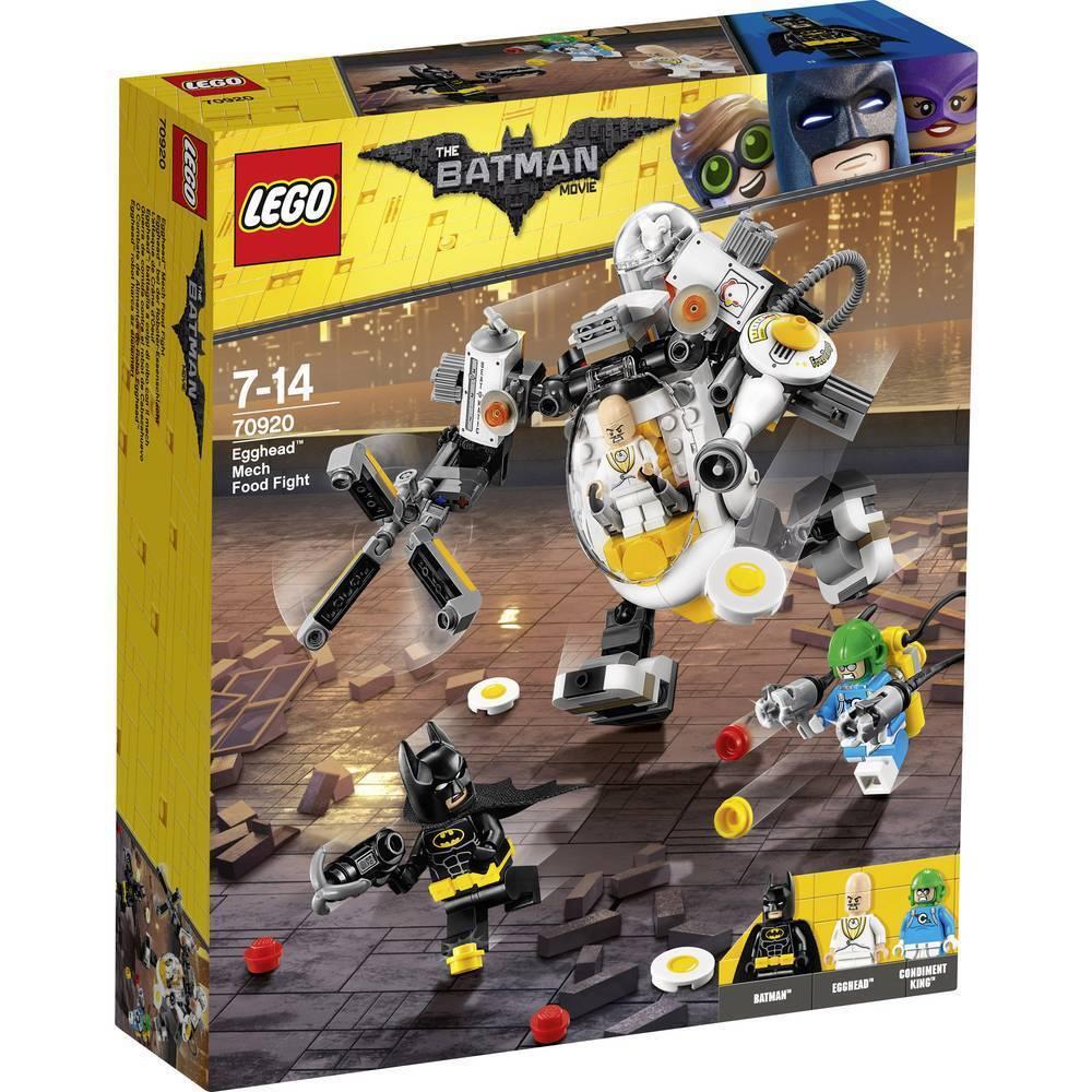 LEGO Batman Movie 70920  Egghead Mech Food Fight - Brand New