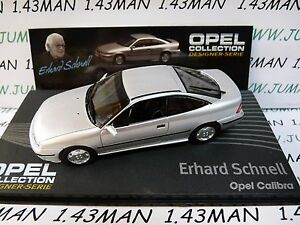 OPE136R-1-43-IXO-designer-serie-OPEL-collection-CALIBRA-E-Schnell-silver