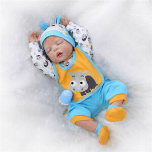 Cute-Lifelike-Reborn-Babies-Boy-Dolls-Full-Body-Silicone-Newborn-Toy-XMAS-Gifts