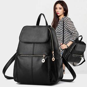 03e012d27d Femme Fashion Sac à Dos Cartable PU Cuir Pochette Sacoche Cabas ...