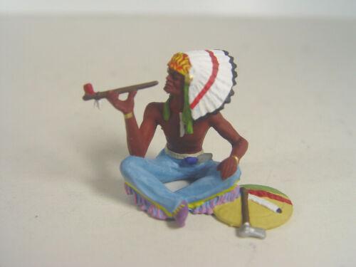 Preiser Elastolin Spur G Figuren in 1:25-54620  #E Indianer Häuptling