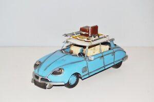 Modellauto-Citroen-DS-Nostalgie-Blechmodell-Metall-31-cm-Neu-Ko