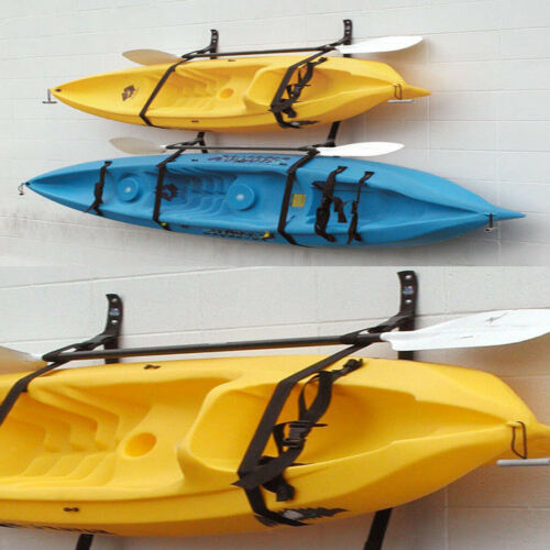 2 Stück Kajak Kanu Boot Wandhalterung Band Aufbewahrung Indoor Aufbewahrung