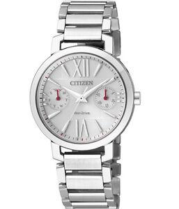Citizen Eco-Drive FD1000-57A Ladies Solar Sapphire Glass Watch WR50m RRP$499.00