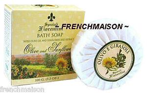 Speziali-Fiorentini-Italian-Tuscany-Florence-Soap-Gift-OLIVE-SUNFLOWER-in-Box