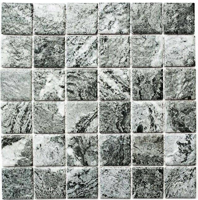 Mosaik Steinoptik Struktur grau Fliesenspiegel Küche Art  16-HWa4GY   10 Matten