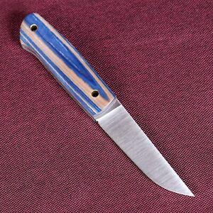 PUUKKO KNIFE SCANDI JEANS MICARTA #BURLAX HAND MADE