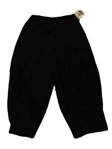 NWT-216-Spirithouse-Sz-L-regular-womens-balloon-pants-black-stretch-waist