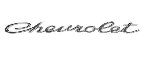 FOR 1965 IMPALA SS 2461 NEW Trim Parts Rear Lower Molding Chevrolet Emblem