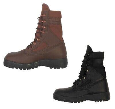 McRae IDF Israeli Genuine Commando Tactical Hiking Boot,Black or Red Euro Sizes