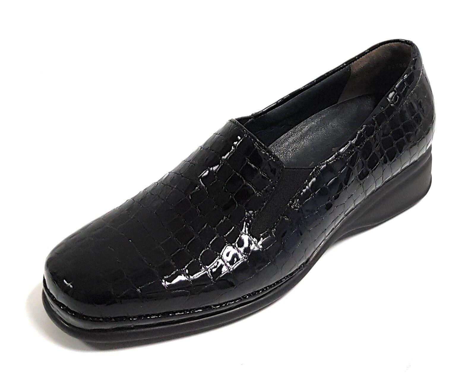 Semler Marina Damen Schuhe Damens Schuhes Slipper Mokassins PU-Luftpolstersohle NEU