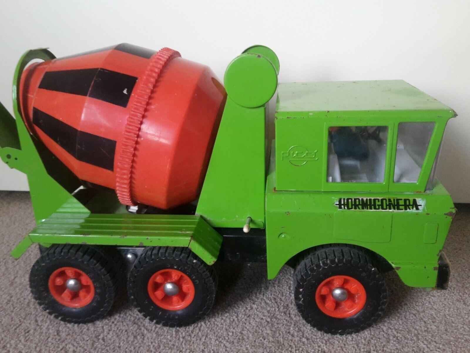 Super Sanson   Rico Concrete Mixer - Steel Toy